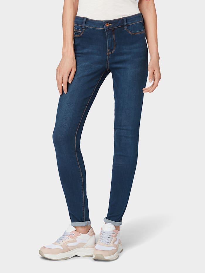Tom Tailor Denim Nela Extra Skinny Jeans, dark stone wash denim