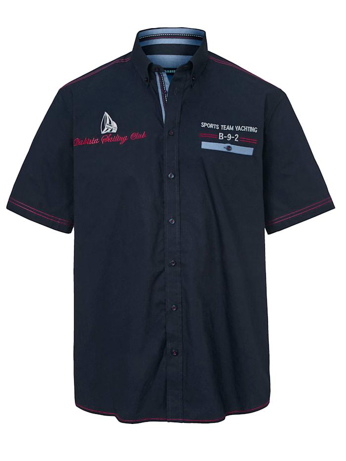 Overhemd in maritieme stijl