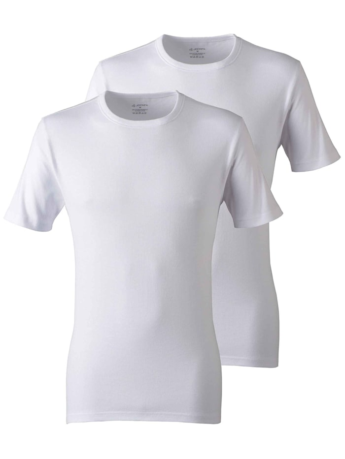 Jockey Shirt im Doppelpack, white