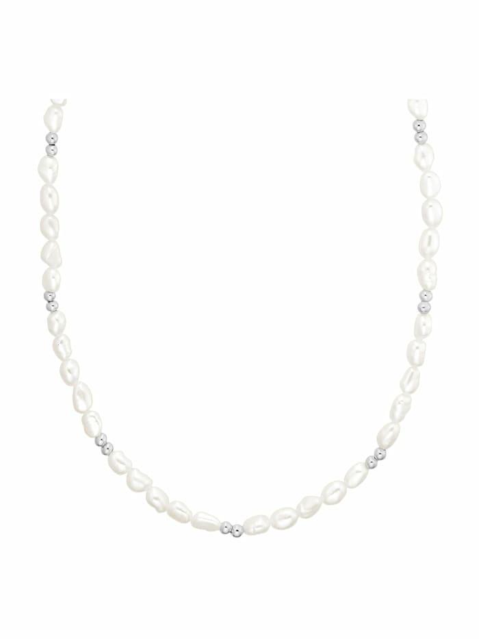 Kette für Damen, Sterling Silber 925, Perle