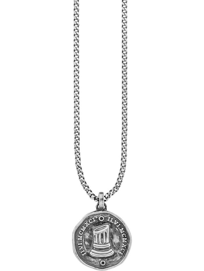 CAI Caï Herren-Kette 925er Silber Spinell, schwarz
