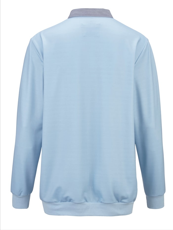 Sweatshirt met maritieme print