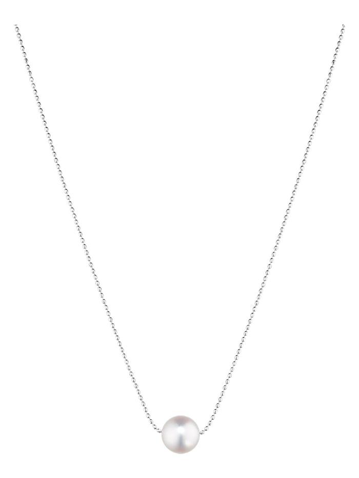 CHRIST Pearls CHRIST Pearls Damen-Kette 585er Weißgold 1 Akoya, perlmutt