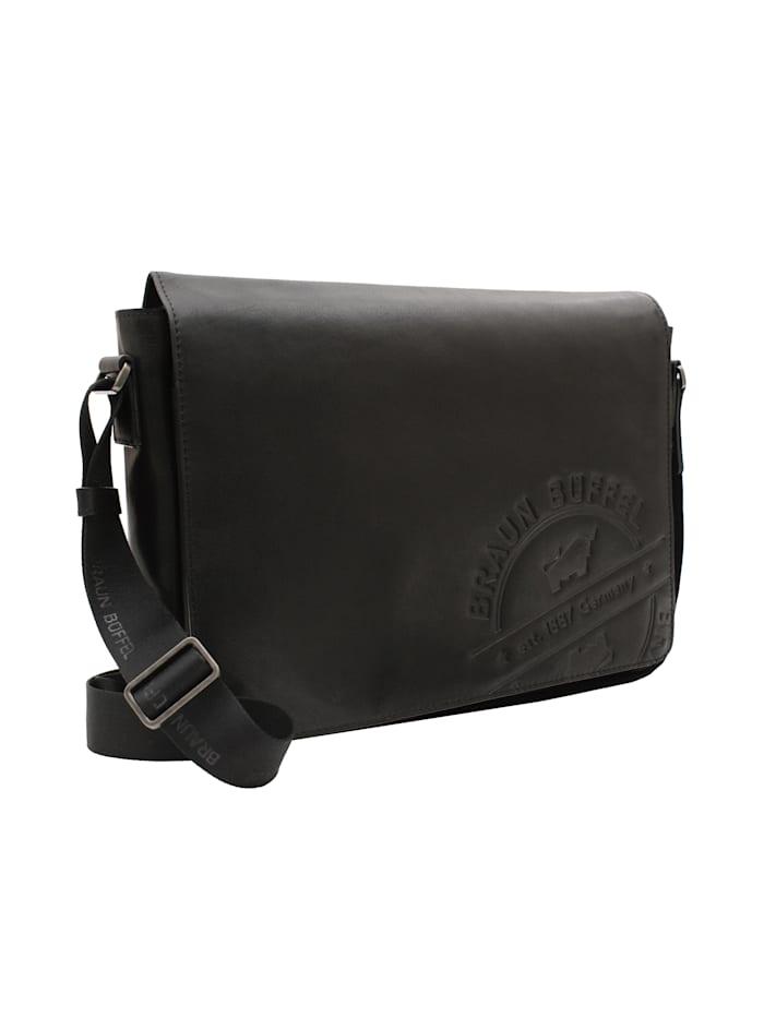 Messenger Bag Parma LP mit markanter Logoprägung