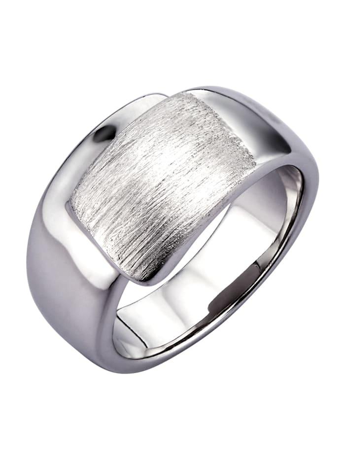 Diemer Silber Damenring aus Silber 925, Silberfarben