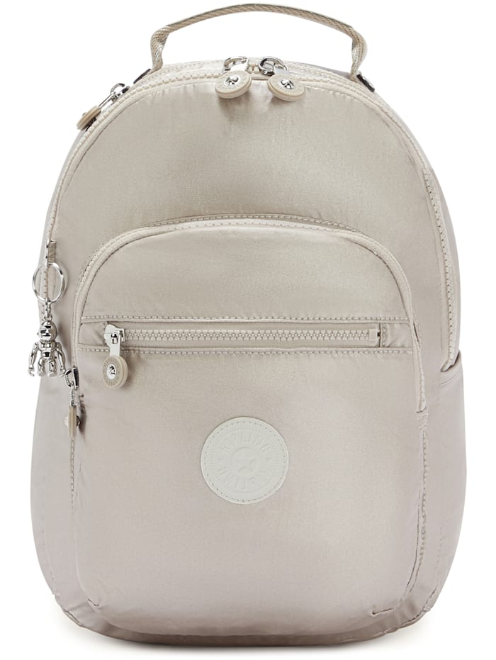 Kipling Basic Plus Seoul S Rucksack 35 cm Laptopfach, metallic glow