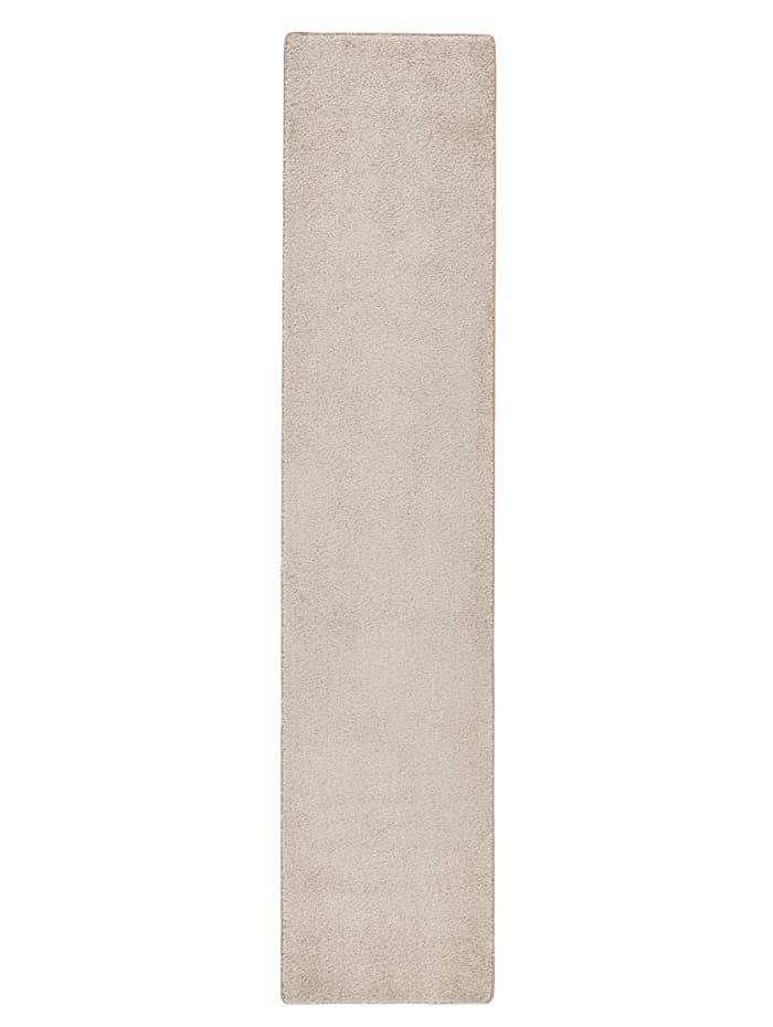 Floordirekt Tapis de couloir à mèches longues Emil, Beige