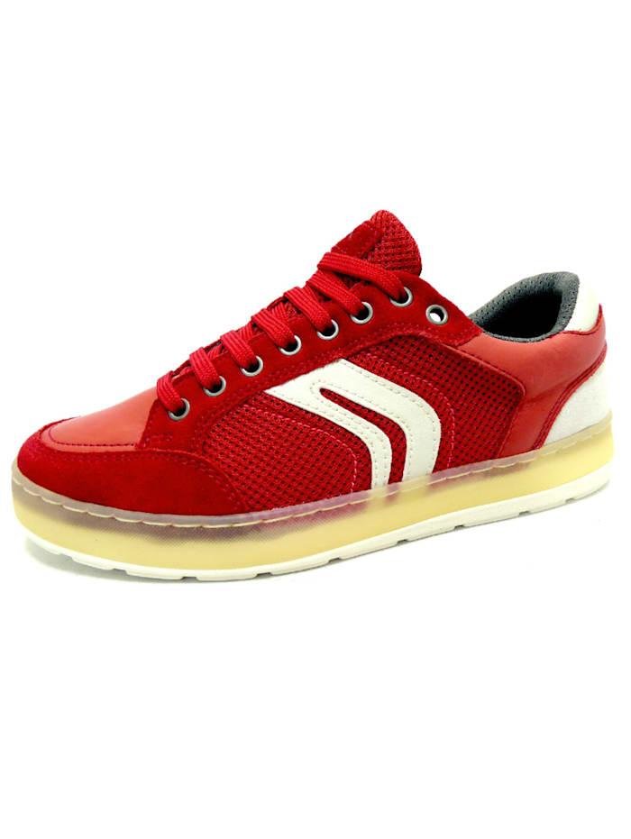 Geox Schnürschuhe, rot