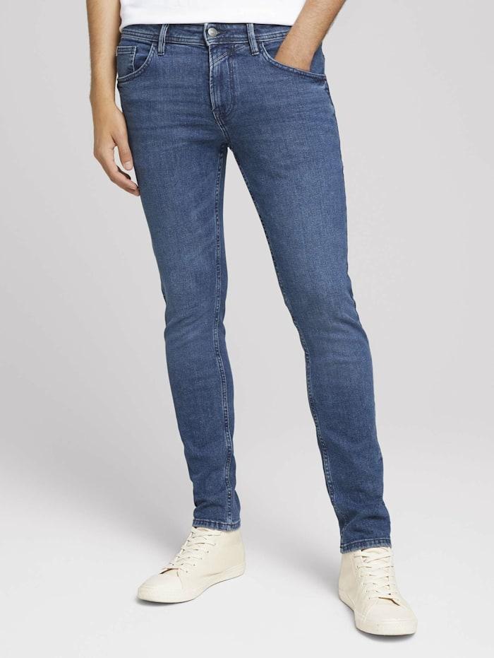 Tom Tailor Denim Skinny Culver Jeans, mid stone wash denim