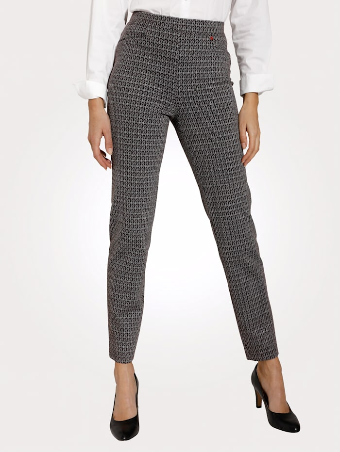 Relaxed by Toni Hose, Aubergine/Schwarz
