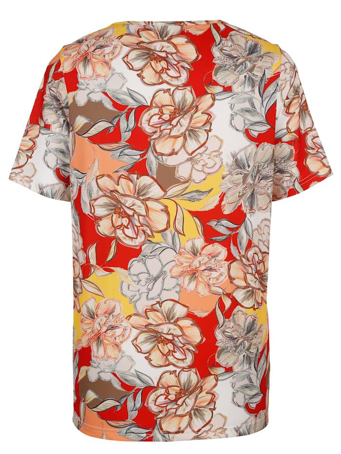 Shirt mit Blumendruckmuster