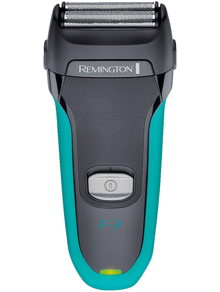 Remington Teräverkollinen parranajokone REMINGTON® F3 F3000, harmaa/turkoosi