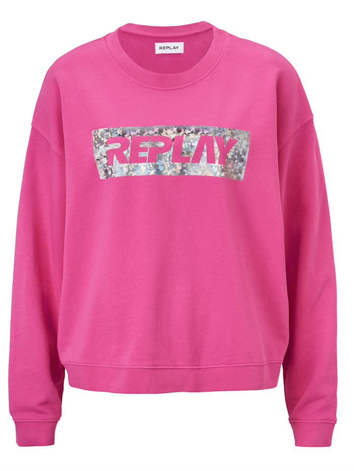 REPLAY Sweatshirt, Pink