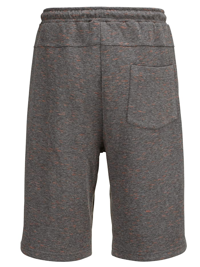 Shorts i melerat material