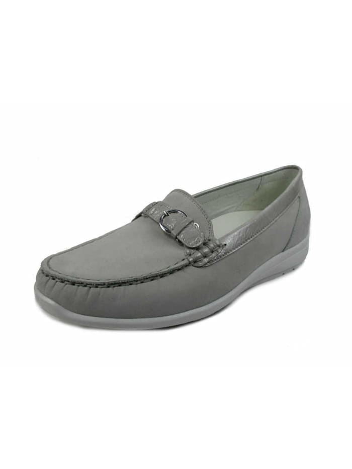 Waldläufer Slipper, grau