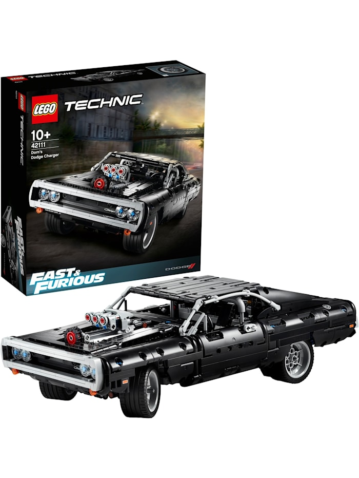 Konstruktionsspielzeug Technic The Fast and the Furious Dom's Dodge Charger