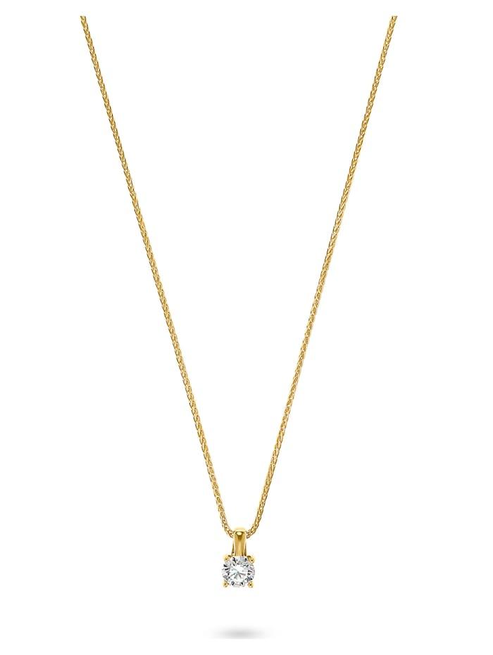 CHRIST Diamonds CHRIST Damen-Kette 1 Diamant, gelbgold