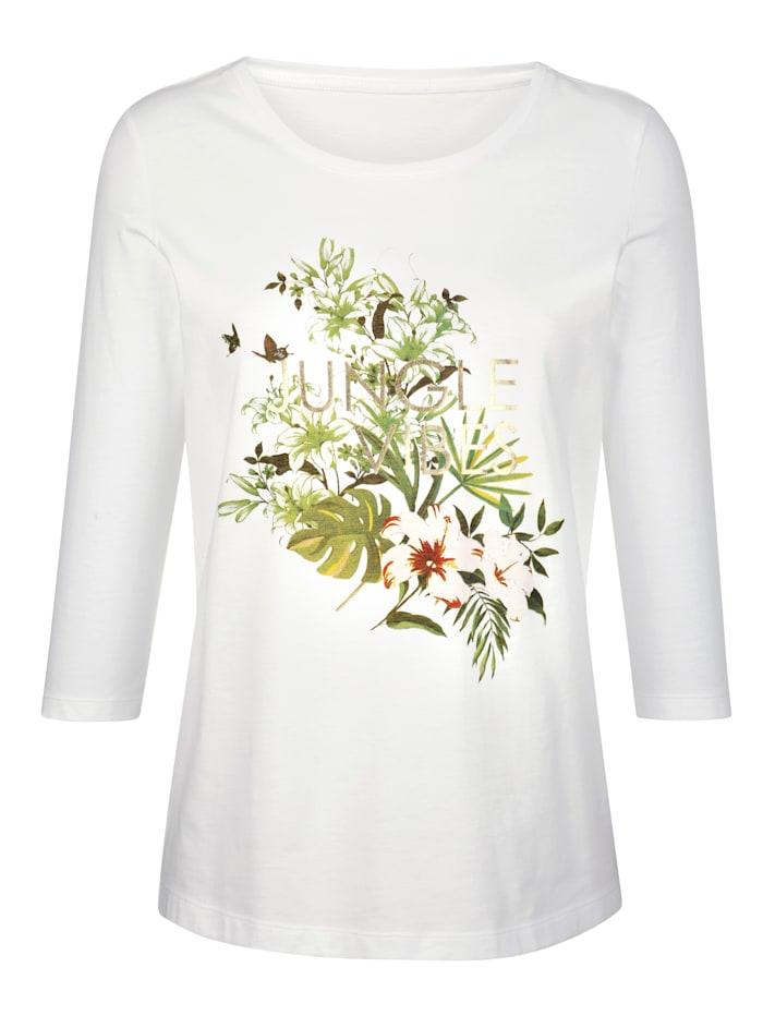 Shirt mit plaziertem Druck