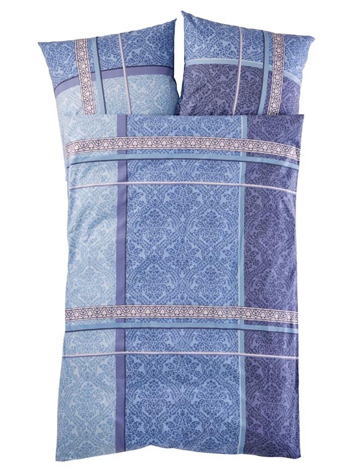 Webschatz Bettwäsche 'Anna' 2tlg, blau