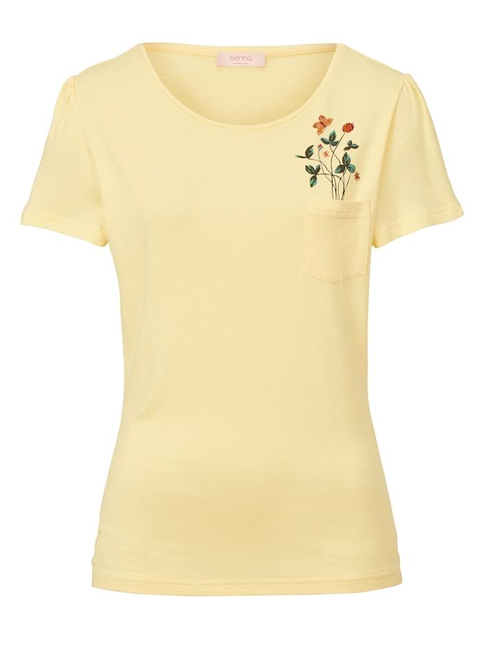 SIENNA Shirt, Hellgelb