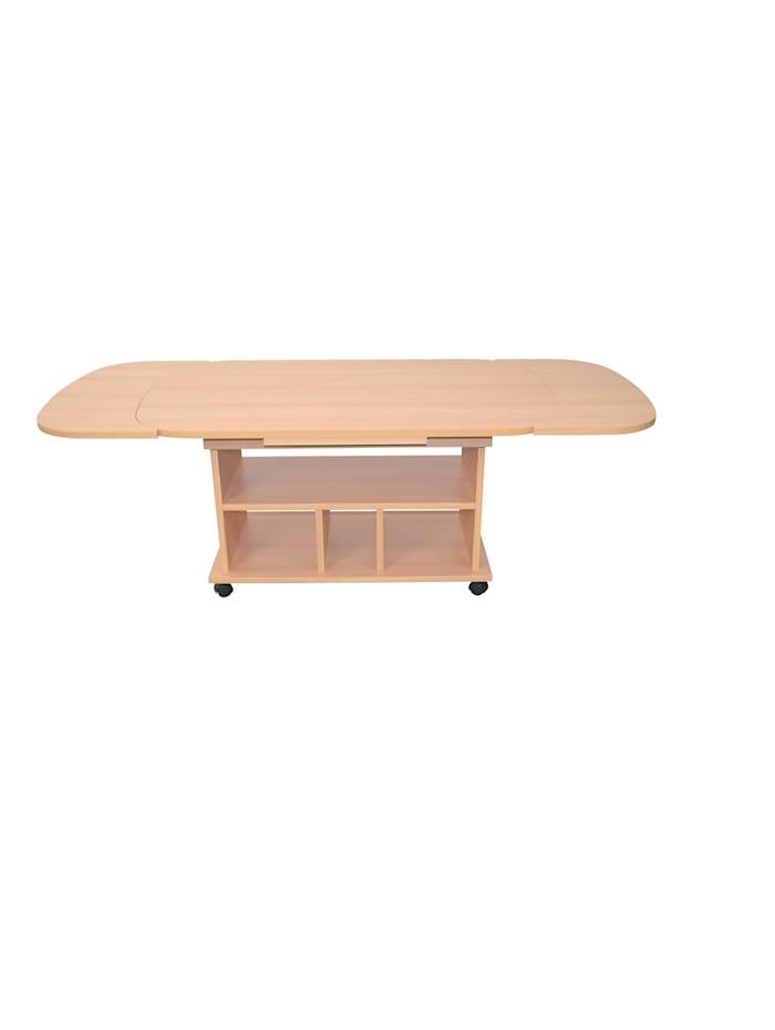 Möbel-Direkt-Online Funktions-Couchtisch Leon, Buche-Nachbildung