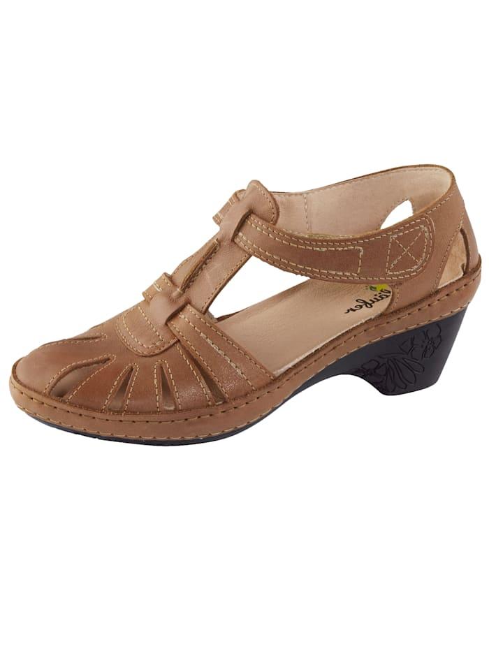 Naturläufer Court Shoes, Cognac