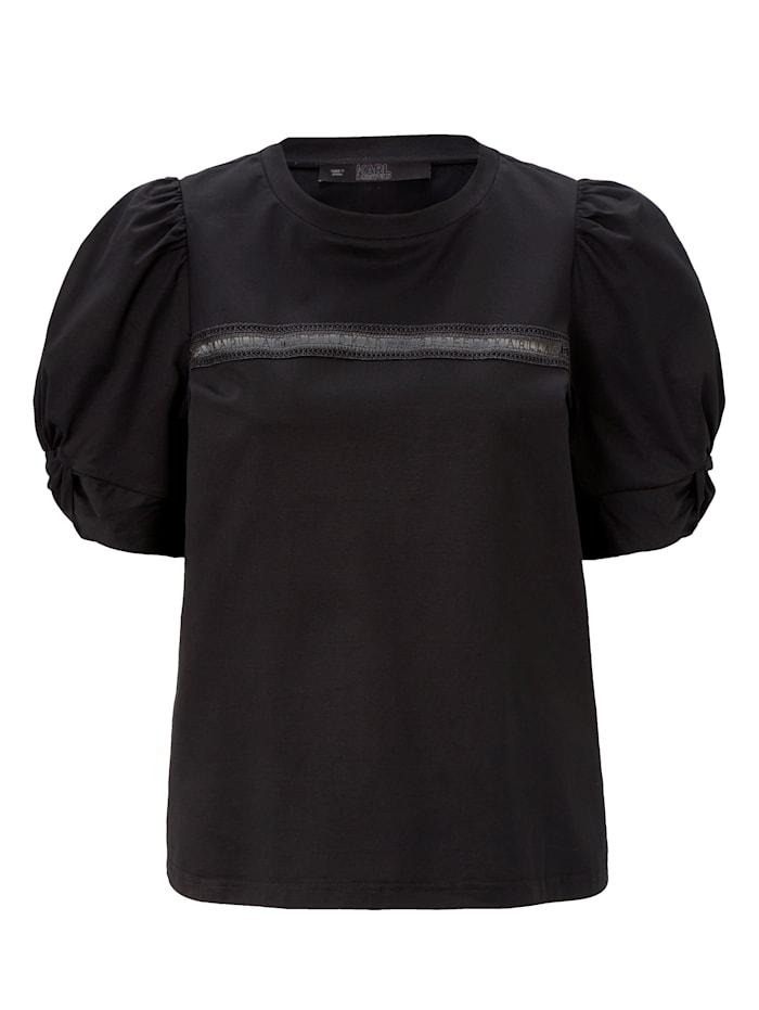 Karl Lagerfeld Shirtbluse, Schwarz