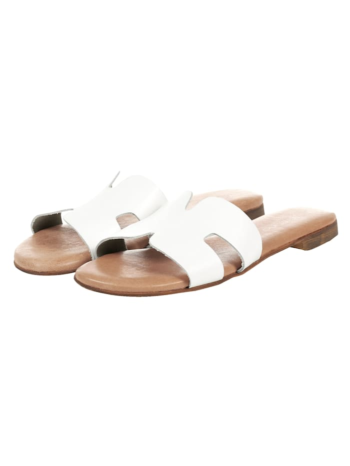 copo de nieve Sandale, Weiß