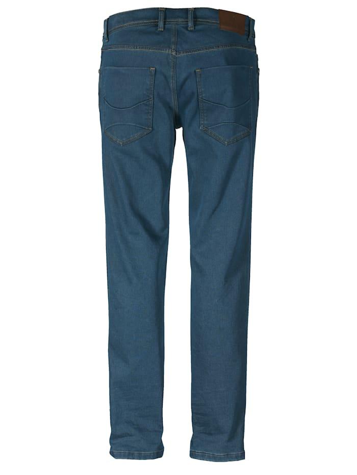 Jeans med varm flanell på innsiden