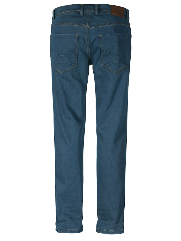 Jeans met warme flanel binnenin