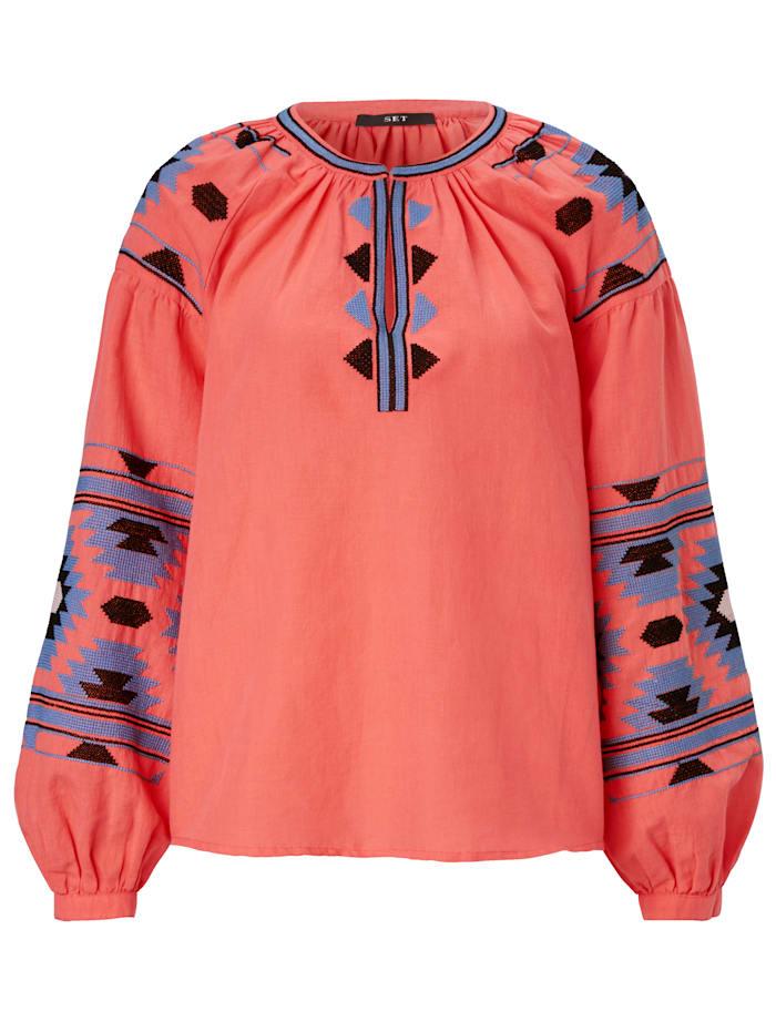 SET Bluse, Orange