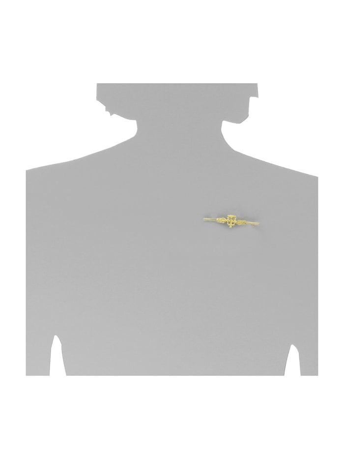 Brosche - Hiddensee - Silber 925/000, vergoldet -