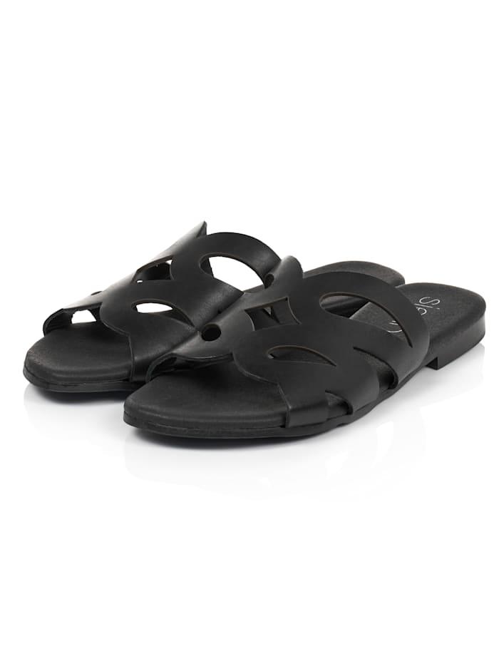 SIENNA Sandale, Schwarz