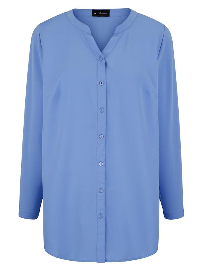 Set blouses met grafisch patroon en effen