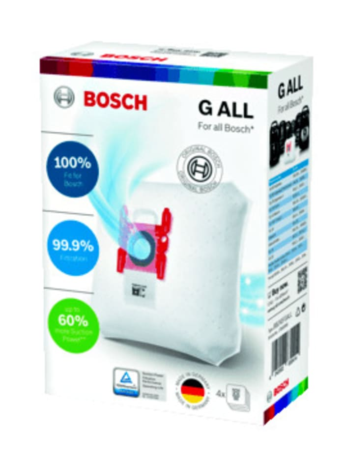 Bosch Støvposer -PowerProtect- BBZ41FGALL', Hvit