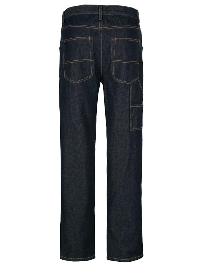Jeans med benficka