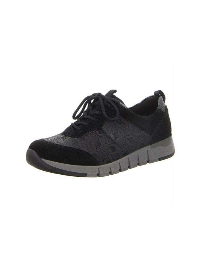 Waldläufer Sneaker Sneaker, schwarz