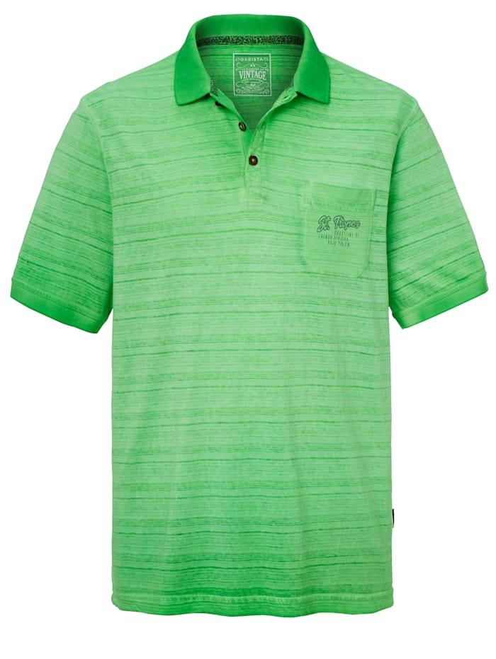 BABISTA Poloshirt in vintagestijl, Groen