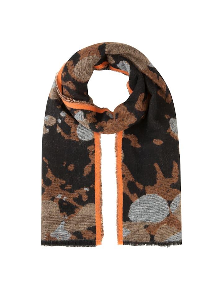 Codello XL-Schal mit stylischem Camou-Muster, camel