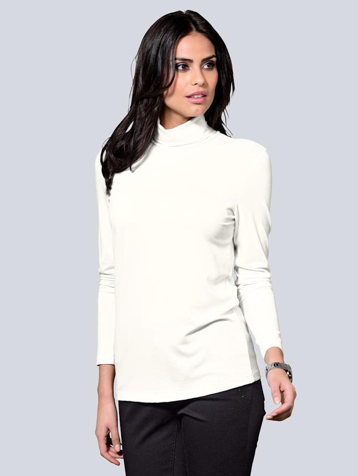 Alba Moda Shirt met col, Crème