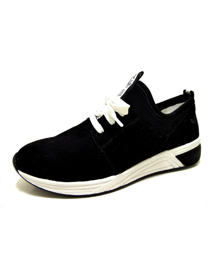 Marco Tozzi Sneakers, schwarz
