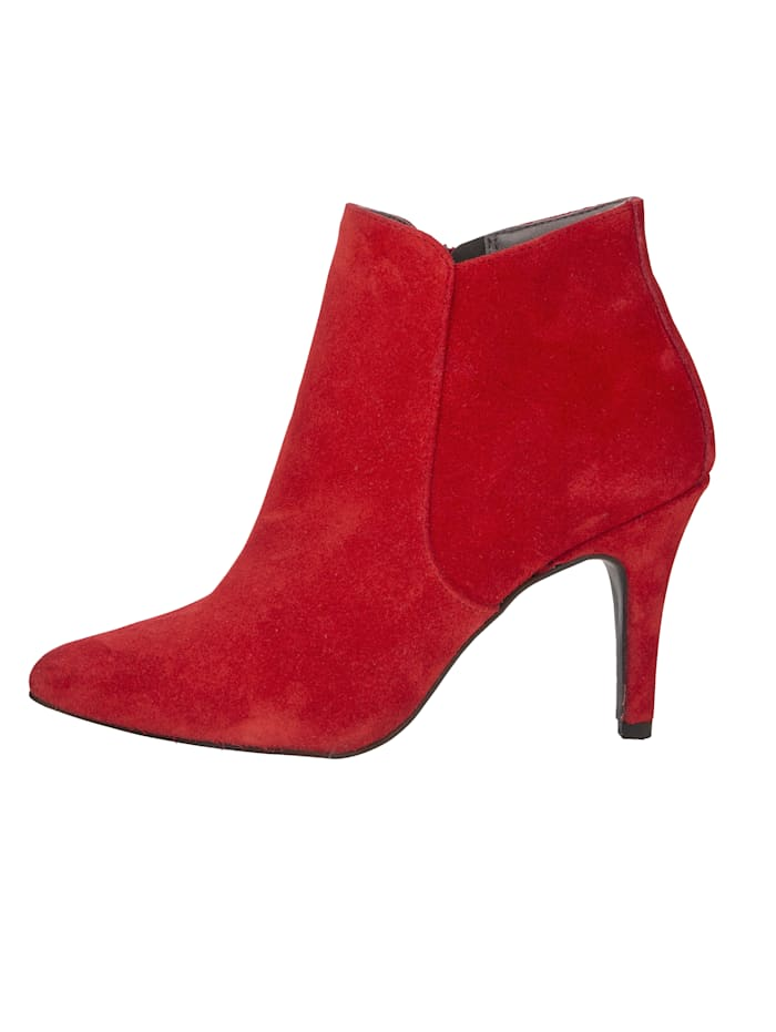 Ankle boots made from premium suede leather