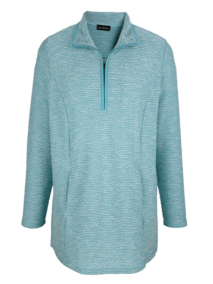 Sweatshirt in Troyerform