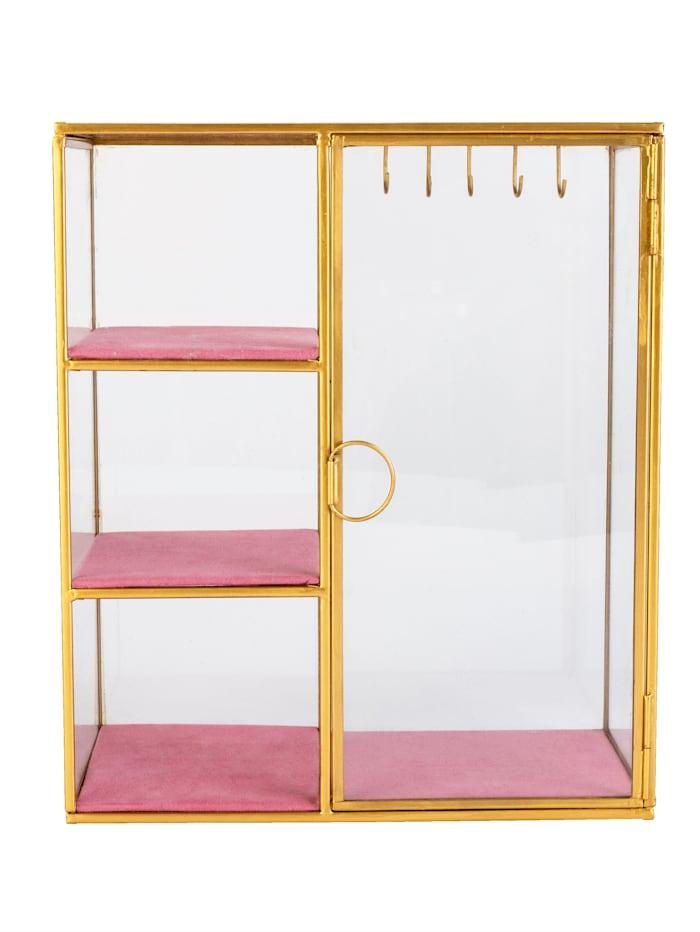 IMPRESSIONEN living Schmuckhalter, Gelbgoldfarben/Pink