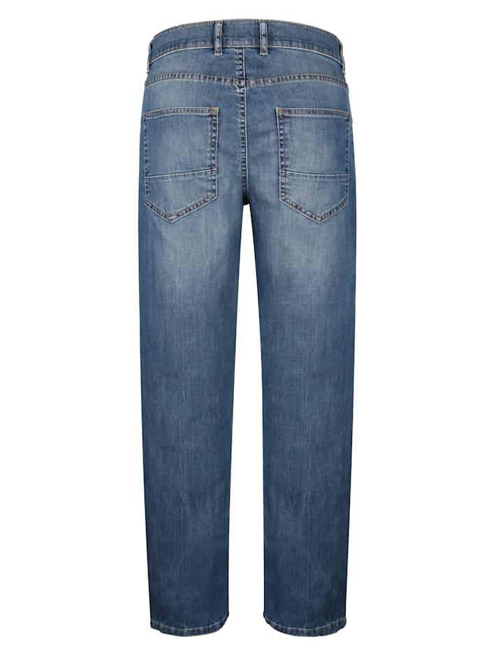 5-Pocket Jeans mit modischer Waschung
