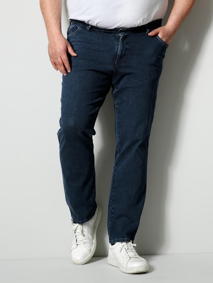 Men Plus Bi-Stretch Jeans Spezialschnitt, Dark blue