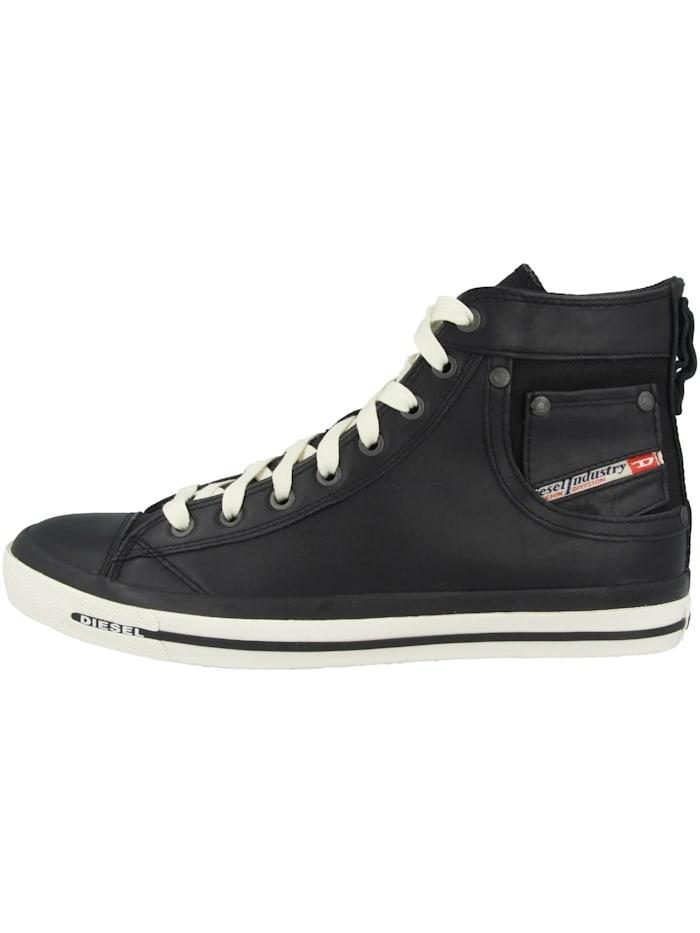Diesel Sneaker mid Exposure I, schwarz