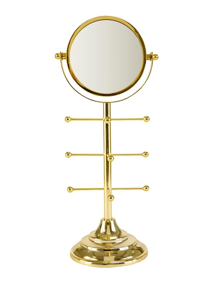IMPRESSIONEN living Deko-Standspiegel, goldfarben