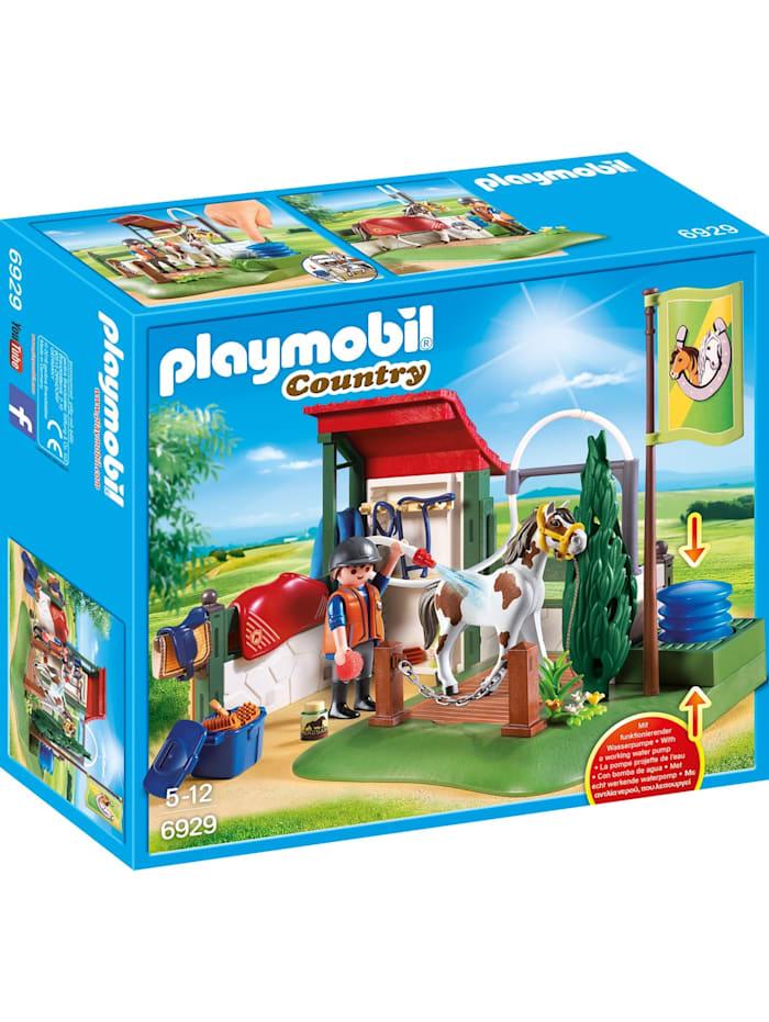 PLAYMOBIL Konstruktionsspielzeug Pferdewaschplatz, bunt/multi