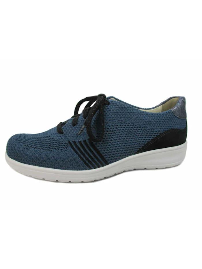 Damen Schnürschuh in blau